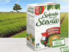 Стевія без гіркого присмаку Splenda натуральний цукрозамінник 140 стіків США 280 g