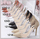 Туфли на выпускной,вечерние,блестящие серебро, фото 4