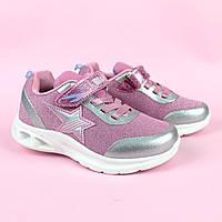 Кроссовки для девочки розовые LED подсветка тм Bi&Ki размер 28,29,31,32