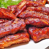 Свиные ребрышки по-канадски с соусом Unagi DanSoy