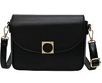 Черная сумка среднего размера