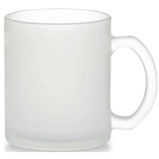 Чашка цилиндр стекло мат (фроузен)