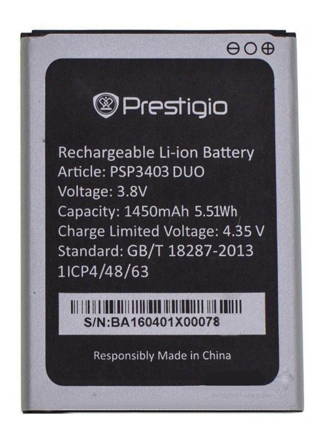 Аккумулятор АКБ для Prestigio 3403 | 3413 (Li-ion 3.8V 1450mAh) Оригинал Китай