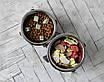 КІТ-ПЕС by smartwood Миска на підставці   Миска-годівниця металева для собак цуценят S - 1 миска 450 мл, фото 3