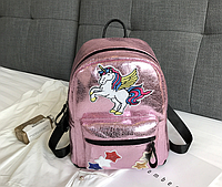 Рюкзак розовый Единорог, фото 1