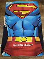 Плед для мальчика флисовый Superman 100/150 см.