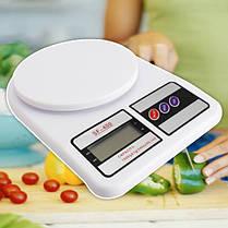 Весы кухонные почтовые бытовые Electronic SF-400 до 10 кг, фото 2