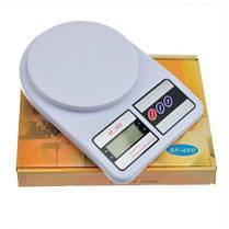 Весы кухонные почтовые бытовые Electronic SF-400 до 10 кг, фото 3