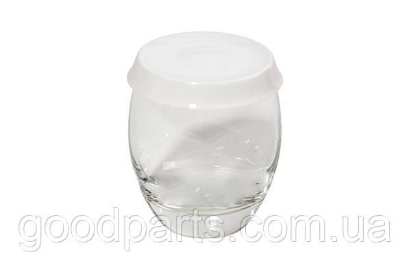 Баночка (стаканчик) большая для йогуртницы Moulinex (с крышечкой)