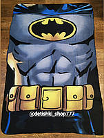 Плед флисовый для мальчика BATMAN 100/150 см..