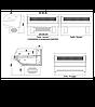 Витрина холодильная Технохолод Джорджия ПВХСн Р-2,0, фото 3