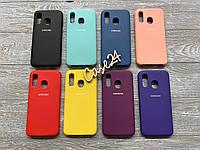 Чехол Soft touch для Samsung Galaxy A40 (8 цветов)