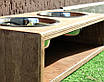 КІТ-ПЕС by smartwood Миска на підставці   Миска-годівниця металева для собак цуценят S - 2 миски 450 мл, фото 4