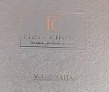 Шикарний Комплект постільної білизни євро Moonlight V. I. P Mirabel Krem бренд First Choice, фото 4