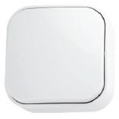 Выключатель белый одноклавишный накладной Eva Horoz Electric 112-001-0001, фото 2