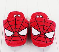 Тапочки Спайдермен, тапки Человек Паук