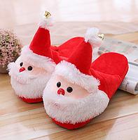Тапочки-кигуруми Дед Мороз,38-41