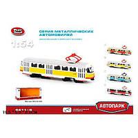 Трамвай PLAY SMART Автопарк открываются двери свет 6411B