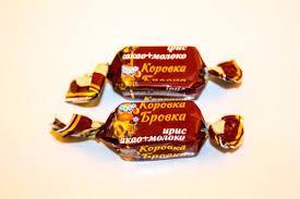 Коровка Бровка ирис какао молоко Балу 2кг