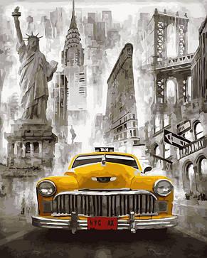 Картина по номерам Нью-Йоркское такси, фото 2