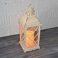 Декоративный фонарь с LED свечей (34*13,5*13,5 см.), фото 1
