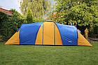 Палатка туристична Abarqs Clif 8 з тамбуром + антимоскітна сітка + проклеєні шви намет, фото 3