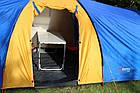 Палатка туристична Abarqs Clif 8 з тамбуром + антимоскітна сітка + проклеєні шви намет, фото 7
