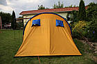 Палатка туристична Abarqs Clif 8 з тамбуром + антимоскітна сітка + проклеєні шви намет, фото 9