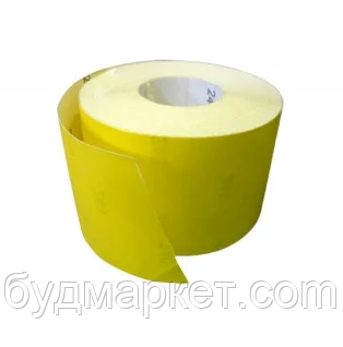 Бумага наждачная на бумажной основе, 115 мм х 50 м, зерн. 180