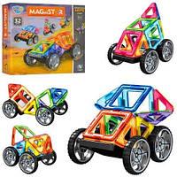 """Магнитный конструктор """"Транспорт"""" MagniStar (32 детали) арт. 3001"""