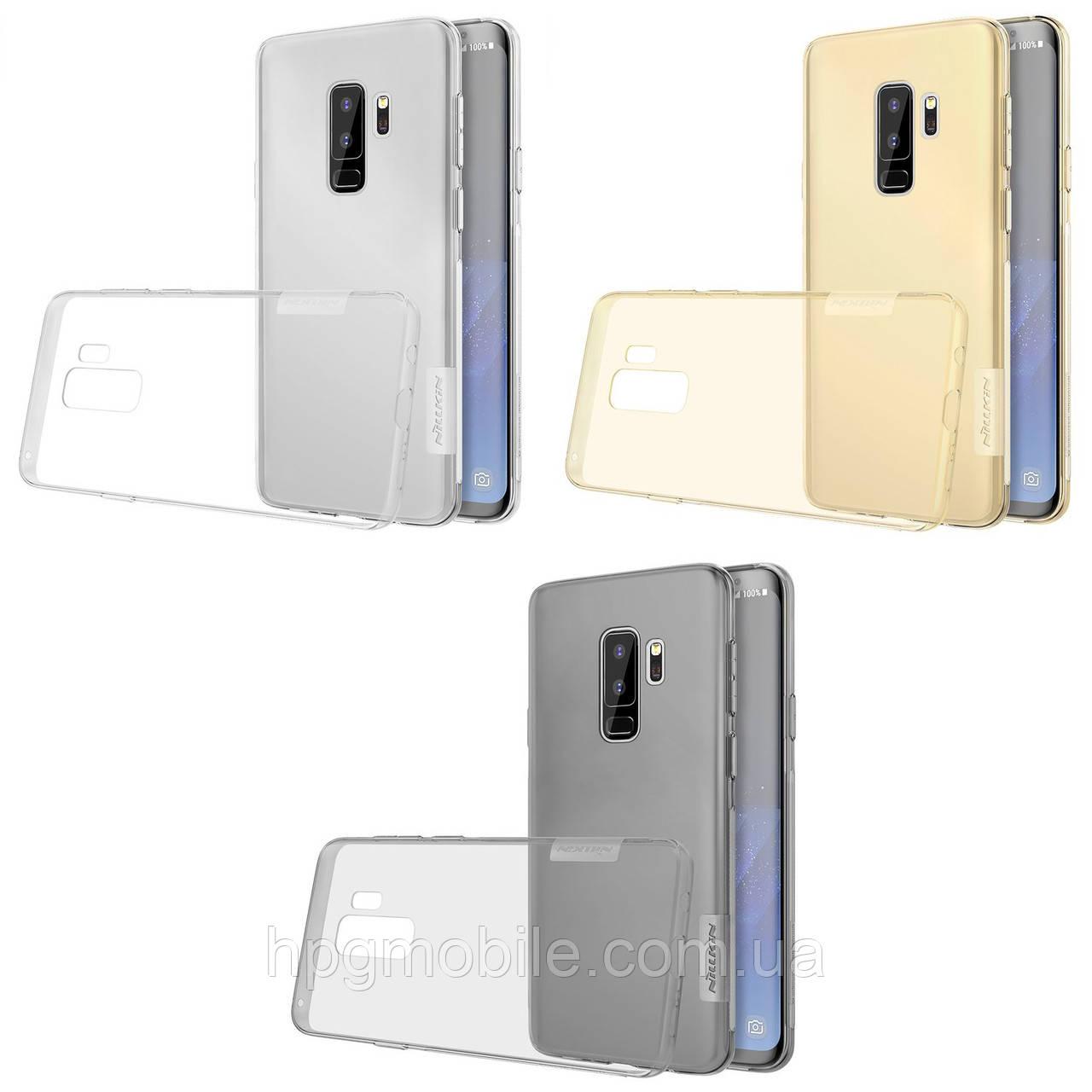Купить Чехол для Samsung Galaxy S9 Plus G965 (2018) - Nillkin Nature TPU Case, Ultra Slim, силикон