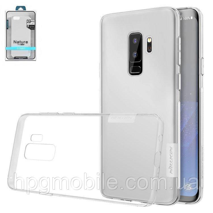 Купить Чехол для Samsung Galaxy S9 Plus G965 (2018) - Nillkin Nature TPU Case, Ultra Slim, силикон Прозрачный