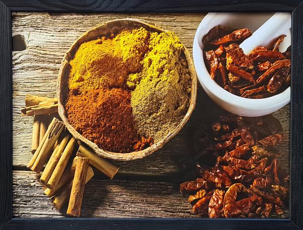 """Фотокартина в деревянной раме """"Spices 6"""", 30х40 см, фото 2"""