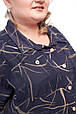 Модное женское платье батал Арния 2 цвета  (66-72), фото 4