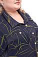 Модное женское платье батал Арния 2 цвета  (66-72), фото 6