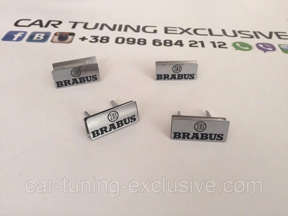 BRABUS emblems interior doors for Mercedes A-class W177