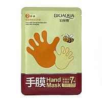 Маска перчатка для рук с медом BioAqua Hand Mask