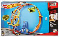 Hot Wheels Трек Хот Вилс Гонки в мертвой петле ( Super Loop Chase Race Trackset)  Mattel