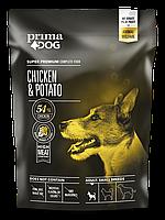 Сухий корм PrimaDog курка з картоплею для дорослих собак малих порід