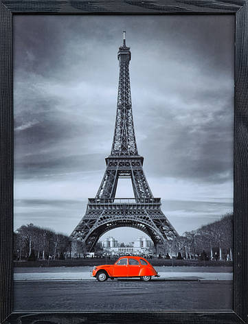 "Фотокартина в деревянной раме ""Paris 4"", 30х40 см, фото 2"