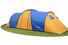 Палатка туристична Abarqs Clif 8 з тамбуром + антимоскітна сітка + проклеєні шви намет, фото 2