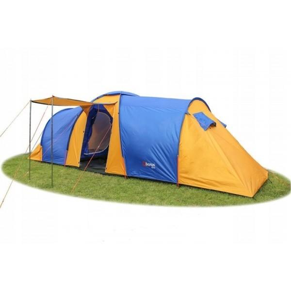 Палатка туристична Abarqs Clif 8 з тамбуром + антимоскітна сітка + проклеєні шви намет