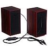 USB Колонки для компьютера и ноутбука FT-2031, Красное дерево Лучшая Цена!, фото 8