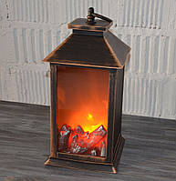 Фонарь декоративный, камин (30*14*14 см.), фото 1