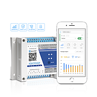 WiFi лічильник електроенергії Баклер ТОР-326-Т01  100мА трансформатори струму