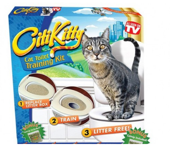 Система приучения кошки к унитазу. СитиКитти