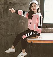 Стильний спортивний костюм для дівчинки / Спортивный костюм для девочек, спортивный костюм,куртка на молнии