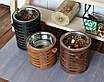 КІТ-ПЕС by smartwood Миска на підставці | Миска-годівниця металева для собак цуценят - 1 миска 1700 мл, фото 7