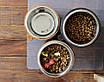 КІТ-ПЕС by smartwood Миска на підставці | Миска-годівниця металева для собак цуценят - 1 миска 1700 мл, фото 9