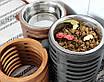 КІТ-ПЕС by smartwood Миска на підставці | Миска-годівниця металева для собак цуценят - 1 миска 1700 мл, фото 10